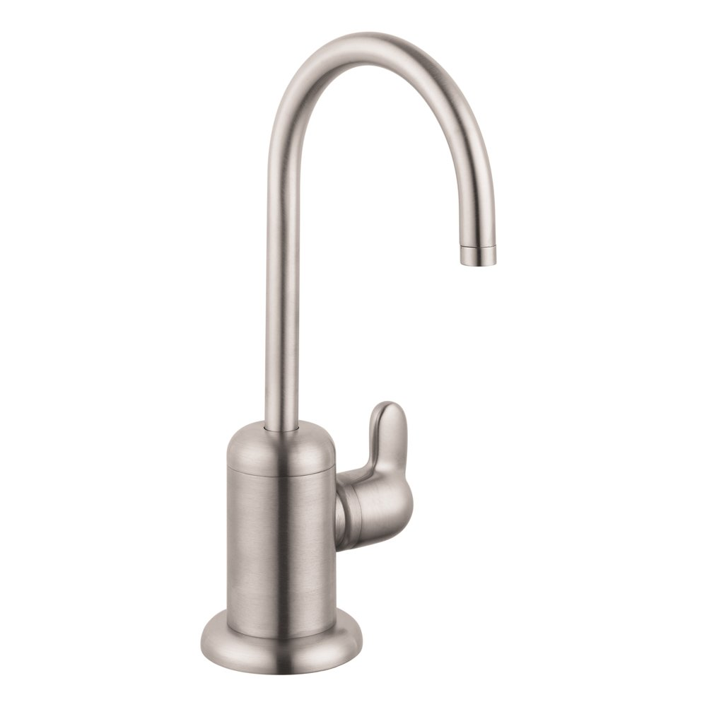 Hansgrohe 04300800 E Beverage Faucet, Steel Optik