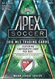 2016 Topps Apex MLS Soccer Unopened Blaster Box of Packs with One GUARANTEED AUTOGRAPHED Card in Each Box