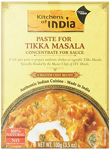 Kitchens of India for Tikka Masala, 3.5-Ounce (Pack of 6)