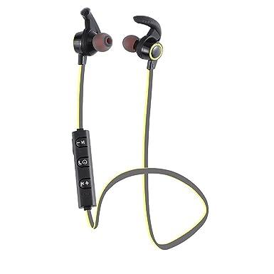 jialong auriculares Bluetooth para auriculares Deporte Auriculares con micrófono y cancelación de ruido A prueba de