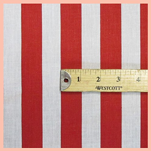 oly Cotton Fabric 58 inches width sold by the yard (Striped Quilt Fabric)