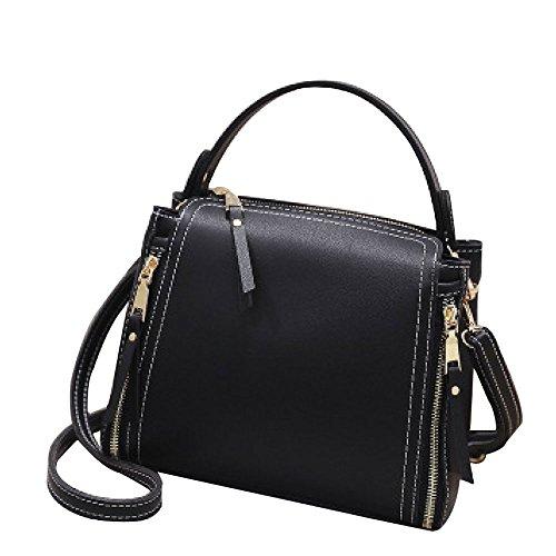 Mode Simple Sac Sac ASDYY Simple Bag Bandoulière Téléphone Messenger Messenger Sacs Seau Lady Black Sac à épaule Messenger wwaI8