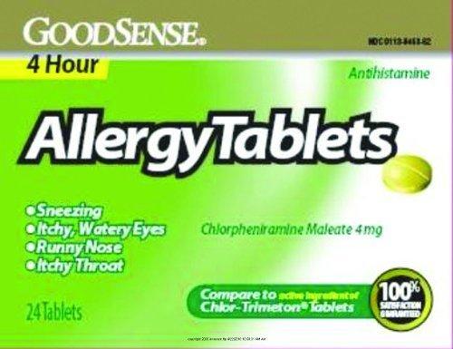 Allergy Tablets 4 Hour, Allergy Tabs 4 Hour 24Ct, (1 EACH, 1 EACH) by Geiss Destin &dunn - Destin Mall