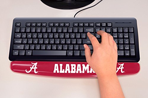 FANMATS 17735 University of Alabama Gel Keyboard Wrist Rest