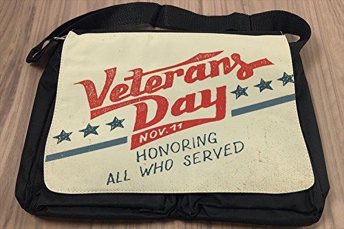 Borsa Tracolla Nostalgico Giorno di veterani Stampato