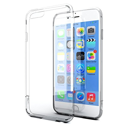 iPhone 6s Case, Enther [Ultimate Cushion] Slim Scratch/Dust Proof Hybrid Transparent Clear Case with Shock Absorb...