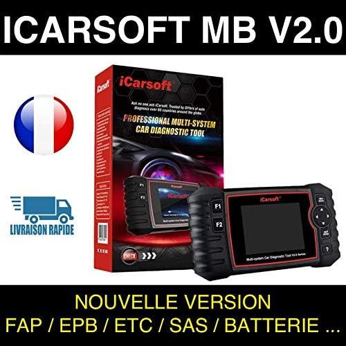 Compatible Mercedes /& Smart ICARSOFT MB V2.0 Diagnostic Multi Syst/èmes