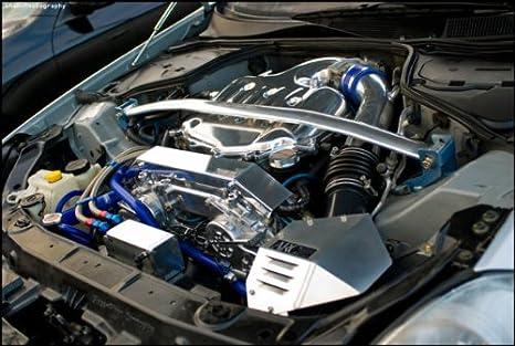 amazon com rare jdm polished aluminum engine wire harness cover rh amazon com BMW Wiring Harness 7.3 Powerstroke Engine Wiring Harness