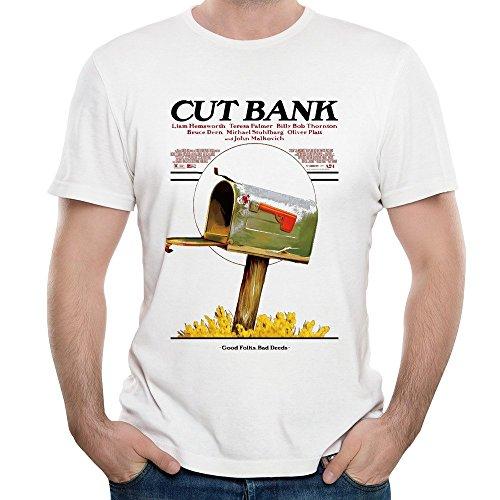 Mens Cut Bank Movie O Neck Short Sleeve T Shirt Tee