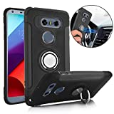 Best Stand Case With Polycarbonates - TechVibe LG V30 Case, Slim Drop Protection Cover Review