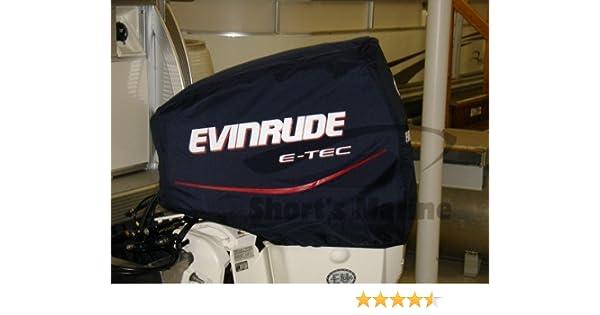 Evinrude BRP Johnson Engine Cover 115HP V4 E-TEC Upper Cloth Blue Cover