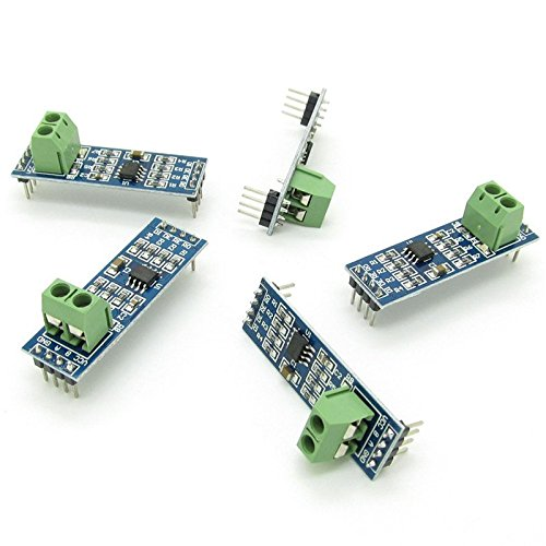 (5pcs MAX485 Chip Module TTL to RS-485 Instrument Interface Module )