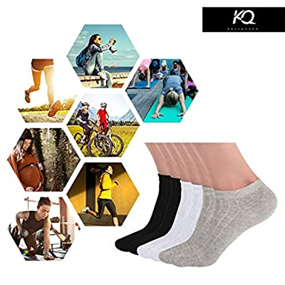 KKSSQUEEN Womens Socks Low Cut Ankle Causal Thin Cotton Athletic Short Socks 3-6 Pairs at Women's Clothing store