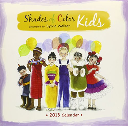 Books : Shades of Color Kids 2013 Calendar