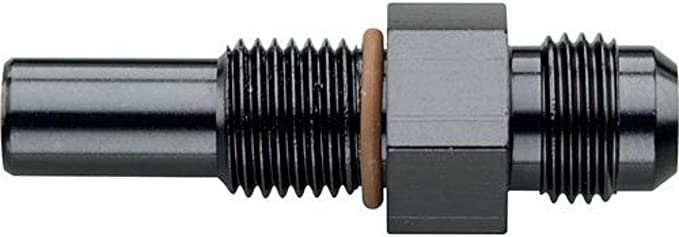 90 ADAPTER BLACK Fragola Performance Systems 482234-BL #3 X 1//4 MPT
