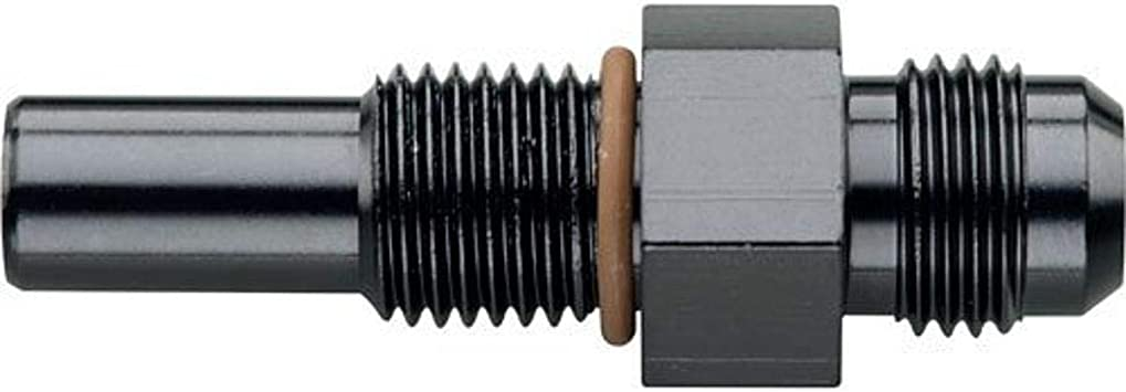 Fragola 481620-BL Straight Adapter Fitting#20 x 1 1//4 MPT Black