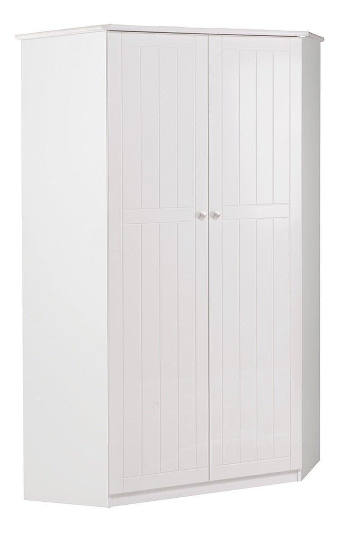 Roba Niedrigboard Dreamworld 3 breit, Sideboard mit 2 Kinderzimmer Fächern und 2 Türen, weißes Schränkchen für Kinderzimmer 2 und Jugendzimmer f37b38