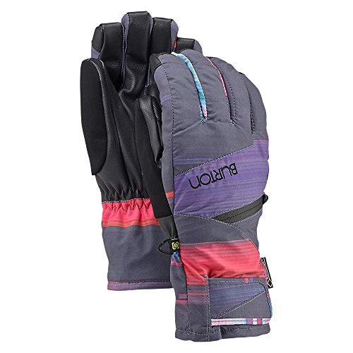 Burton Womens 103611 Gore-Tex Under Glove, Coral Flynn Glitch - L