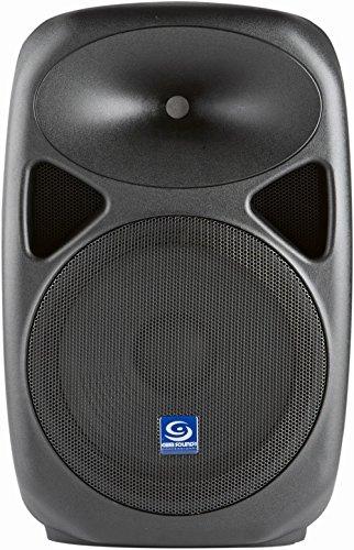 "Gem Sound PXB120USB 12"" Powered Speaker with USB/SD Media Pl"