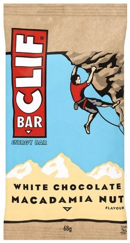 3 opinioni per Clif Bar Energy Bar White Choc Macadamia 68 g (Pack of 12)