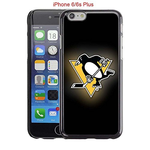 iPhone 5 Case, iPhone 5S Cover, iPhone SE Cases, Penguins Hockey Team logo 41 Drop Protection Never Fade Anti Slip Scratchproof Black Hard Plastic Case