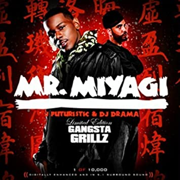 Mr  Miyagi by J Futuristic [Music CD] by : Amazon co uk: Music