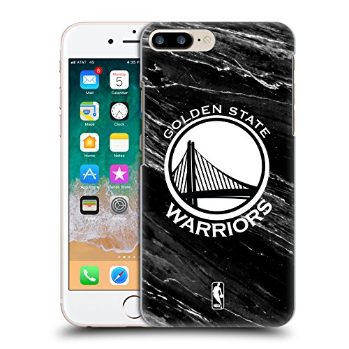 Official NBA B&W Marble Golden State Warriors Hard Back Case for Apple iPhone 7 Plus / 8 Plus (B/w Iphone)