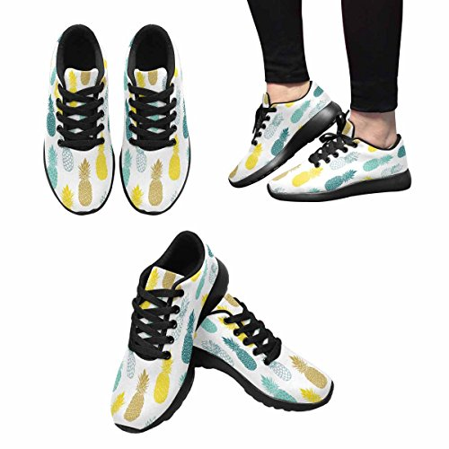 Pattern Jogging Vintage Women's Flower Easy Multi Sneaker Go Shoes Running Casual Comfort 6 Walking InterestPrint Running Lightweight xfqH6n5AAw