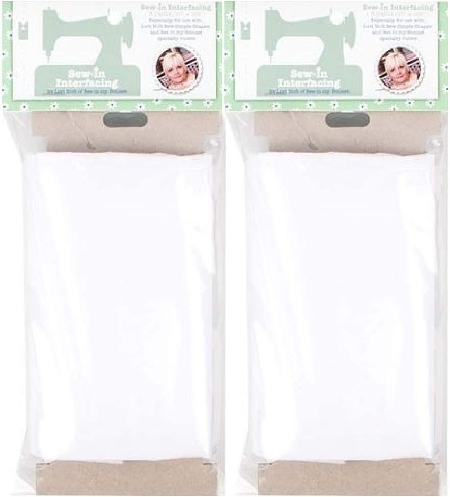 2 Pack Lori Holt Sew-in Non-Fusible Interfacing