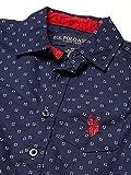 U.S. Polo Assn. Boys' Pants Set, Plaid/Red Multi, 3T