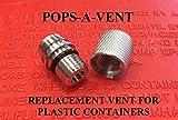 gas jug vent cap - Pops-A-Vent Replacement Gas Fuel Can Vent Cap