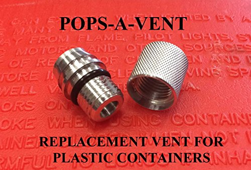 Pops-A-Vent Replacement Gas Fuel Can Vent Cap