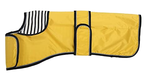 Pethiy Chamarra Impermeable Ligera Ajustable con Correas ...