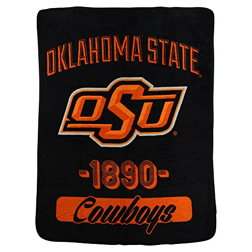 - The Northwest Company NCAA Collegiate Varsity Super Soft Plush Throw Blanket (Oklahoma State Cowboys)