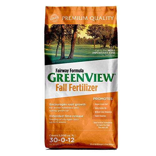 GreenView Fairway Formula Fall Lawn Fertilizer - 25 lb. - Covers 5,000 sq. ft