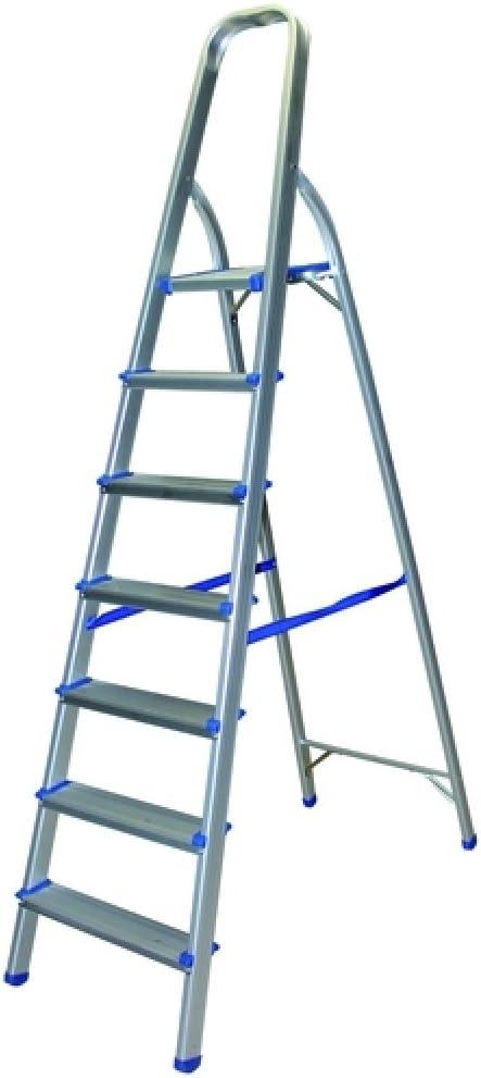 Escalera de 7 escalones 1,90 m: Amazon.es: Hogar