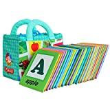 Kids Cloth Card Book Toys with Learning Pattern & Education Readings 26 PCS