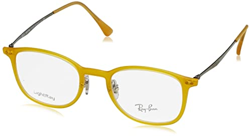 e7ba77503c Image Unavailable. Image not available for. Colour  Eyeglasses Ray-Ban  Vista RX 7051 5519 OPAL MATTE YELLOW