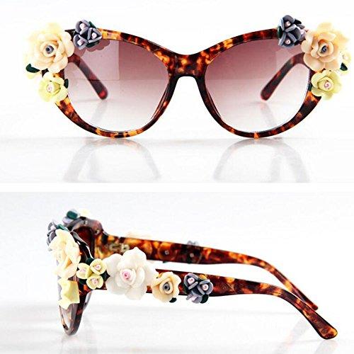 exteriores de sol la UV Gafas de vacaciones Gafas personalidad XIAOLIN sol de de de en de la sol Gafas para playa para tridimensionales Protección Gafas 06 par HD Gafas sol de sol de sol Gafas Gafas moda UCqCP4wx