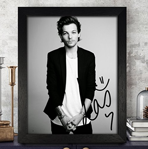 one direction autographed poster - 5