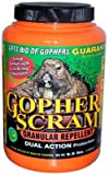 Enviro Protection Ind 13004 Gopher Scram Granular Repellent, 3.5-Lbs. - Quantity 7