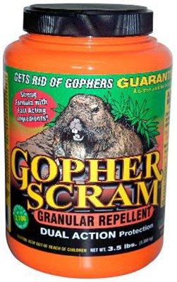 Enviro Protection Ind 13004 Gopher Scram Granular Repellent, 3.5-Lbs. - Quantity 7 by enviro protection ind co inc