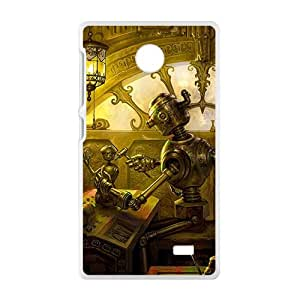 Artistic antique house Cell Phone Case for Nokia Lumia X