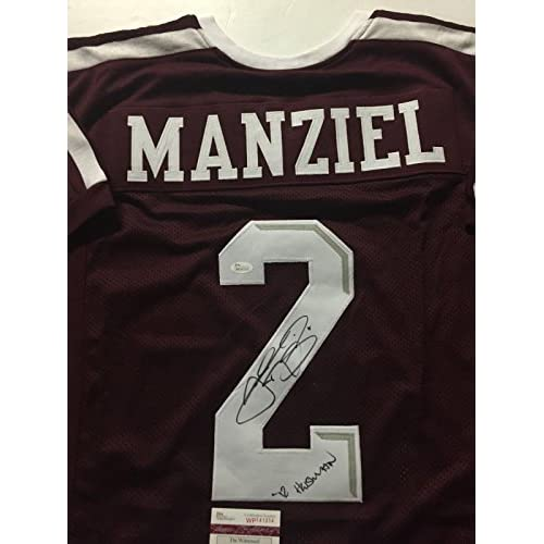 f1aa4b2d3a0 high-quality Autographed/Signed JOHNNY MANZIEL