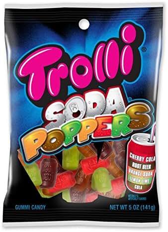 Gummy Candies: Trolli Soda Poppers