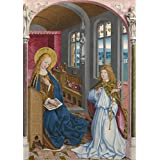'Master of Liesborn The Annunciation ' oil painting, 8 x 11 inch / 20 x 29 cm ,printed on Perfect effect canvas ,this Beautiful Art Decorative Canvas Prints is perfectly suitalbe for gift for relatives and Home gallery art and Gifts
