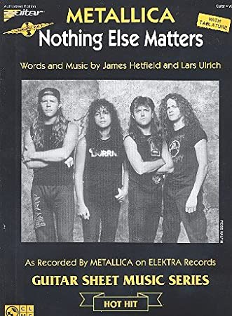 Nothing Else Matters: Metallica único salida Guitar/Vocal: Amazon ...