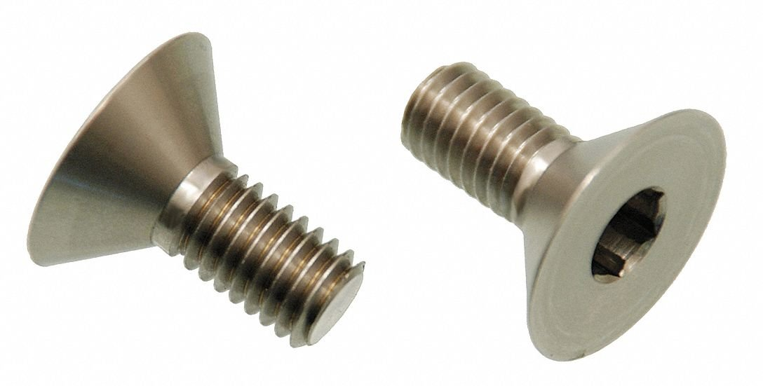 Architectural Bolt, SS, Flat, 10-24 - pack of 5