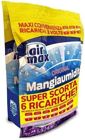 air max assorbiumidita ricarica