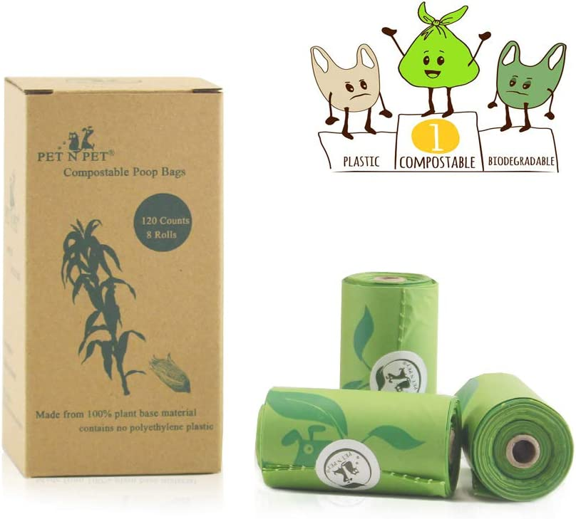 PET N PET - Bolsas de basura biodegradables para perros y gatos ...